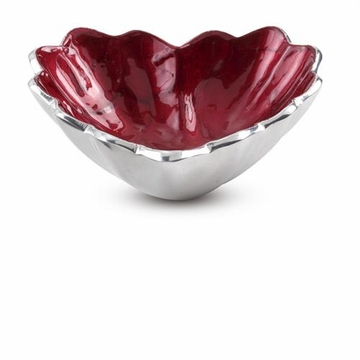 Julia Knight Heart 4'' Bowl - Pomegranate