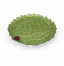 "Julia Knight Holly Sprig 13"" Round Platter Mojito"
