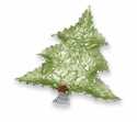 "Julia Knight Holly Sprig 16"" Tree Platter - Mojito"