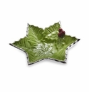 "Julia Knight Holly Sprig Starflake 6"" Bowl Mojito"
