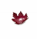 "Julia Knight Maple Leaf 6"" Petite Bowl Pomegranate"