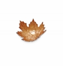 "Julia Knight Maple Leaf 6"" Petite Bowl Spice"