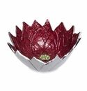 "Julia Knight Poinsettia 14""  Bowl Pomegranate"