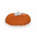 "Julia Knight Pumpkin 17"" Platter Spice"