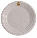 Juliska Acanthus Dinner Plate - Whitewash and Gold