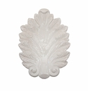 Juliska Acanthus Whitewash 15 in. Leaf Platter