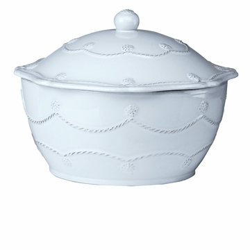 Juliska Bakeware Berry and Thread Small Covered Casserole - Whitewash