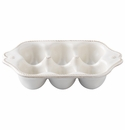 Juliska Berry and Thread Small (6) Egg Crate Whitewash