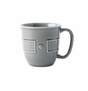 Juliska Berry & Thread French Panel Stone Grey Cofftea Cup