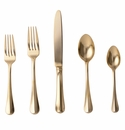 Juliska Bistro Gold 5pc Place Setting