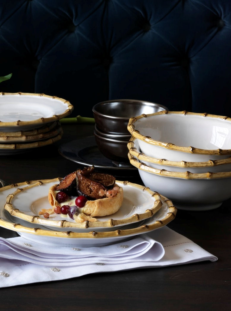 & Juliska Classic Bamboo Dinnerware Collection