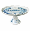 Juliska Country Estate Cake Stand Delft Blue Fete