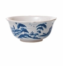 Juliska Country Estate Cereal/Ice Cream Bowl Hen House Delft Blue