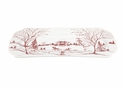 Juliska Country Estate Hostess Tray Main House Ruby