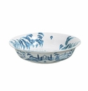 Juliska Country Estate Large Serving Bowl Kite Fliers Delft Blue