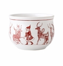 Juliska Country Estate Reindeer Games Ruby Comfort Bowl