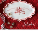 Juliska Country Estate Santa Claus is Coming to Town Tray