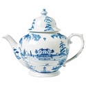 Juliska Country Estate Teapot Delft Blue Main House