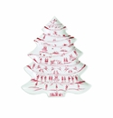 Juliska Country Estate Winter Frolic Ruby Tree Platter 12 Days of Christmas