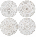 Juliska Dinnerware Jardins du Monde Cocktail Plates (Set of 4) - Whitewash