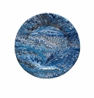 Juliska Firenze Marbleized Dessert or Salad Plate Delft Blue