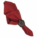 Juliska Herringbone Napkin Ruby