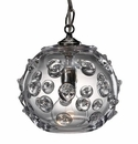 Juliska Home Decor Florence Small Globe Pendant - Clear