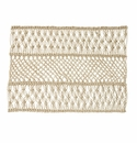 Juliska Macrame Natural Placemat