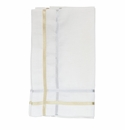 Juliska Metallic Ribbon Lattice Gold/Silver Napkin