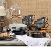 Juliska Pewter Stoneware Dinnerware Collection