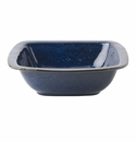 "Juliska Puro Dappled Cobalt 10.5"" Rounded Square Serving Bowl"