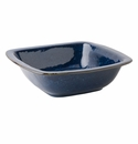 "Juliska Puro Dappled Cobalt 12.5"" Rounded Square Serving Bowl"