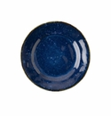 Juliska Puro Dappled Cobalt Cocktail Plate