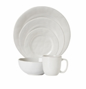 Juliska Puro Whitewash 5pc Setting (Dinner Dessert Side Cereal Cofftea )