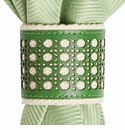 Juliska Trellis Napkin Ring Garden Green