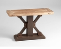 Kern Wood and Iron Table by Cyan Design