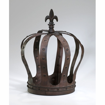 King's Crown Iron Decor by Cyan Design