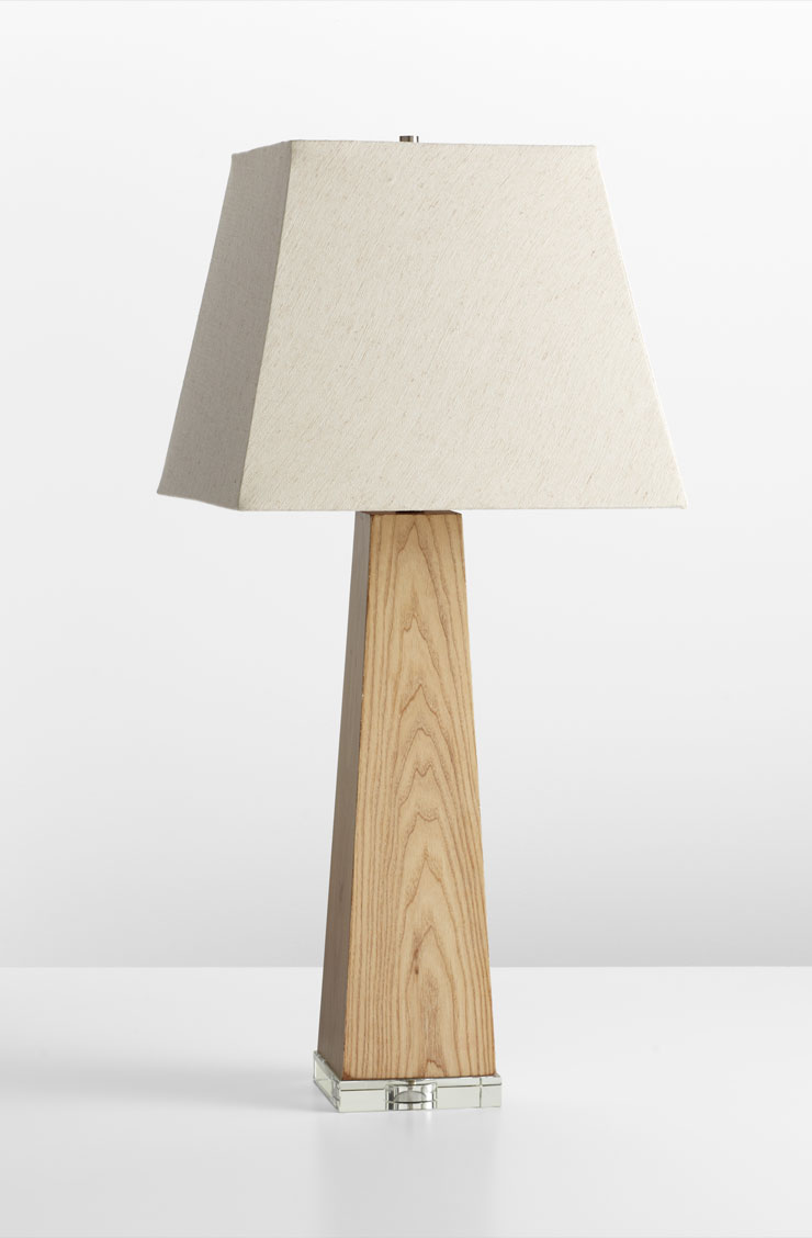 Kirkwood maple wood table lamp by cyan design for Lamp wooden