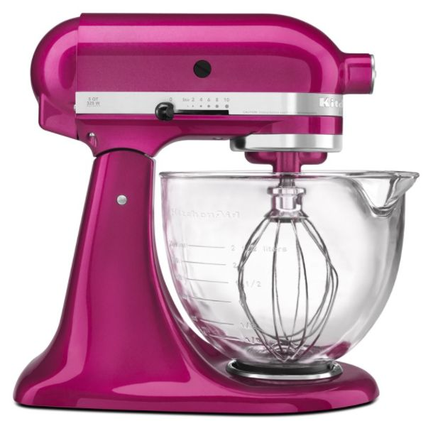 Kitchenaid Artisan Design 5 Qt Stand Mixer With Glass