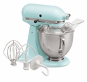 KitchenAid Artisan Stand Mixer 5qt. Tilt - Ice Blue