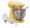 KitchenAid Artisan Stand Mixer 5qt. Tilt - Majestic Yellow