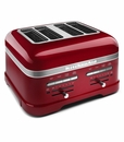KitchenAid Pro Line 4-Slice Toaster - Candy Apple Red