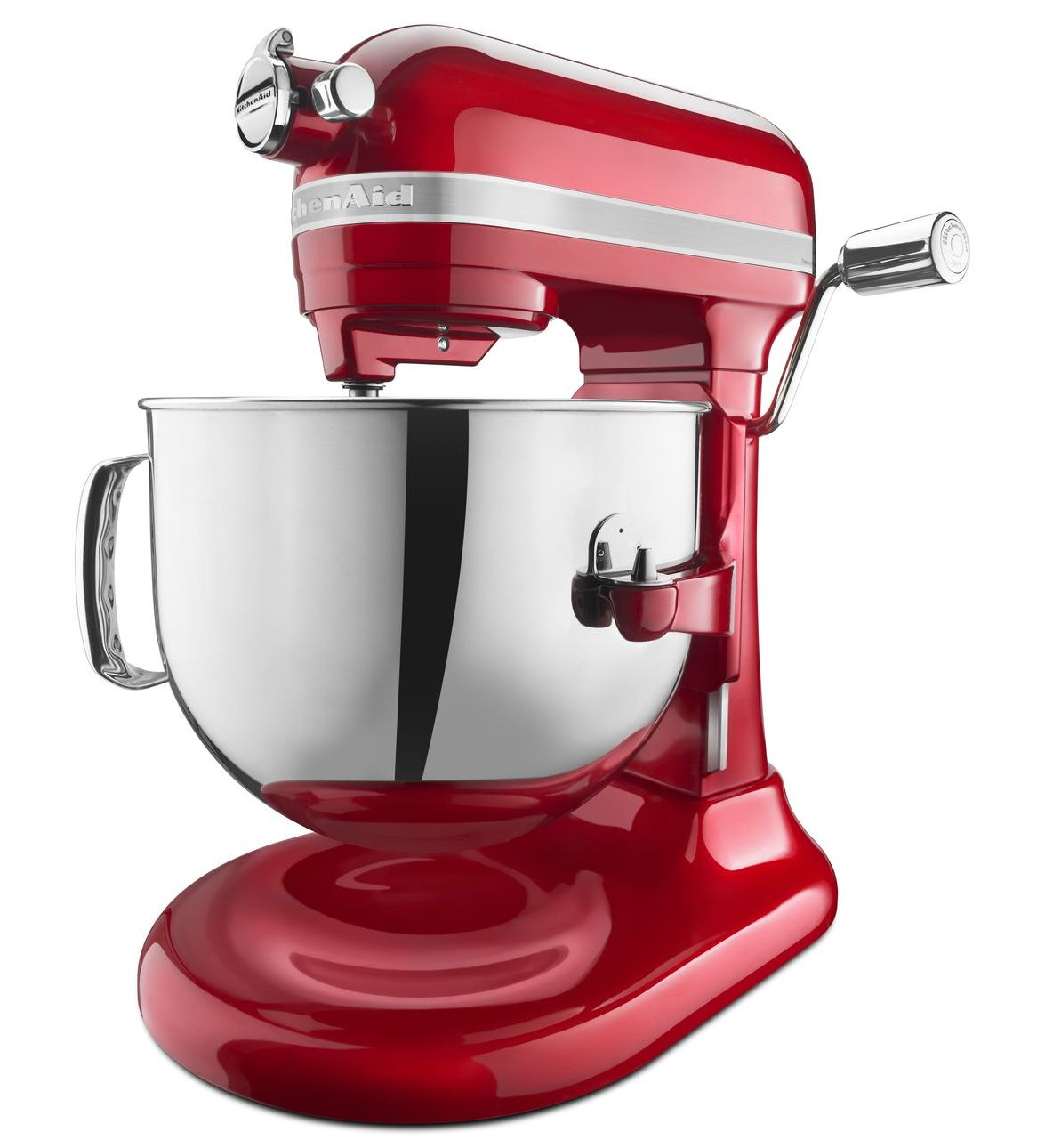 kitchenaid pro line 7 qt stand mixer candy apple red