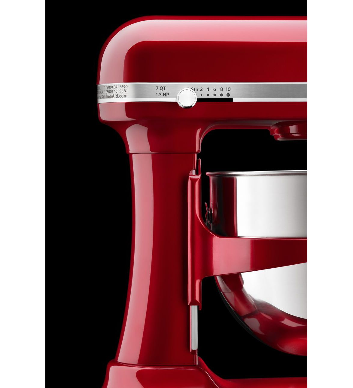 Kitchenaid Pro Line 174 7 Qt Stand Mixer Candy Apple Red
