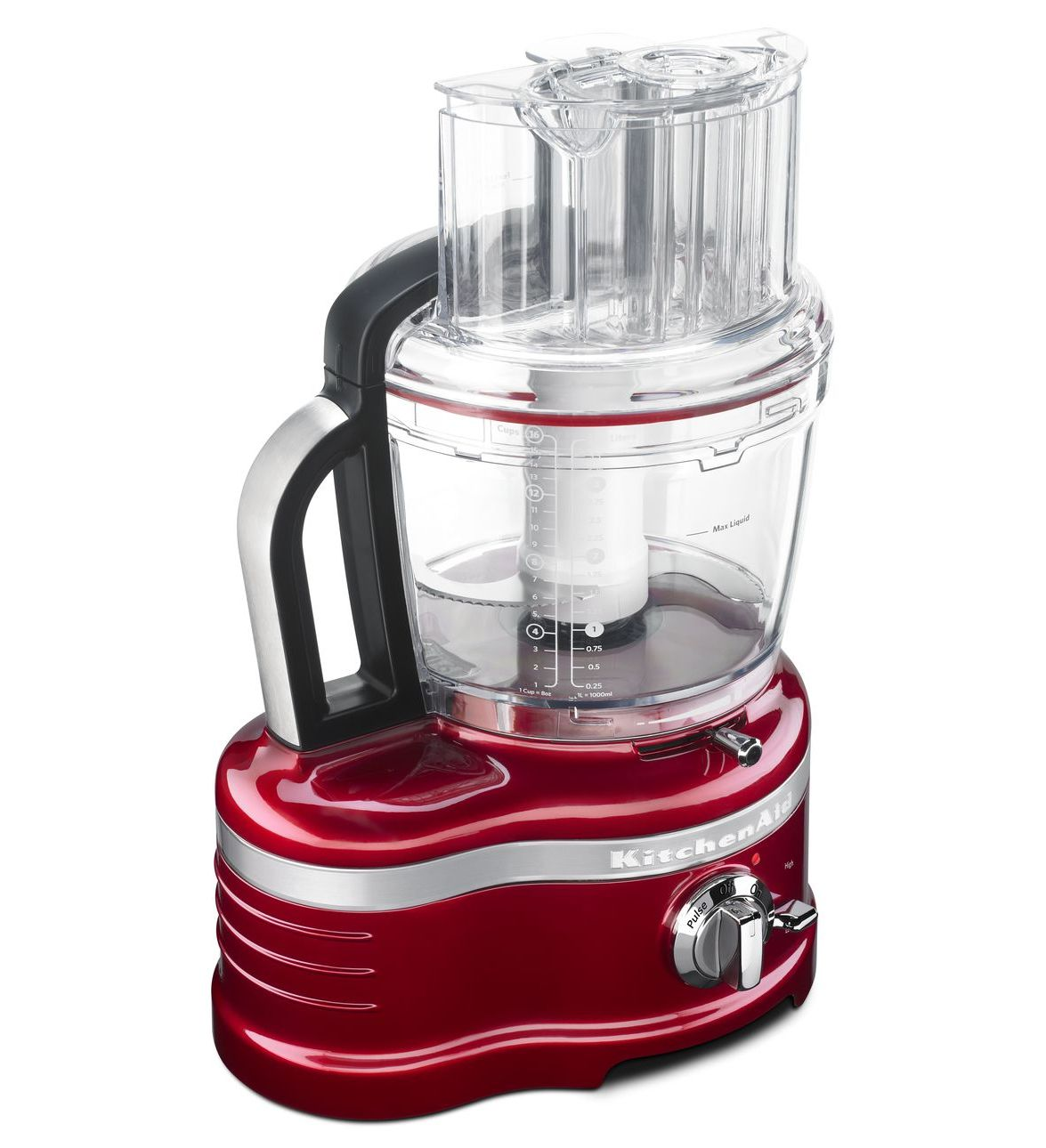 Kitchenaid Proline 16 Cup Food Processor Candy Apple Red