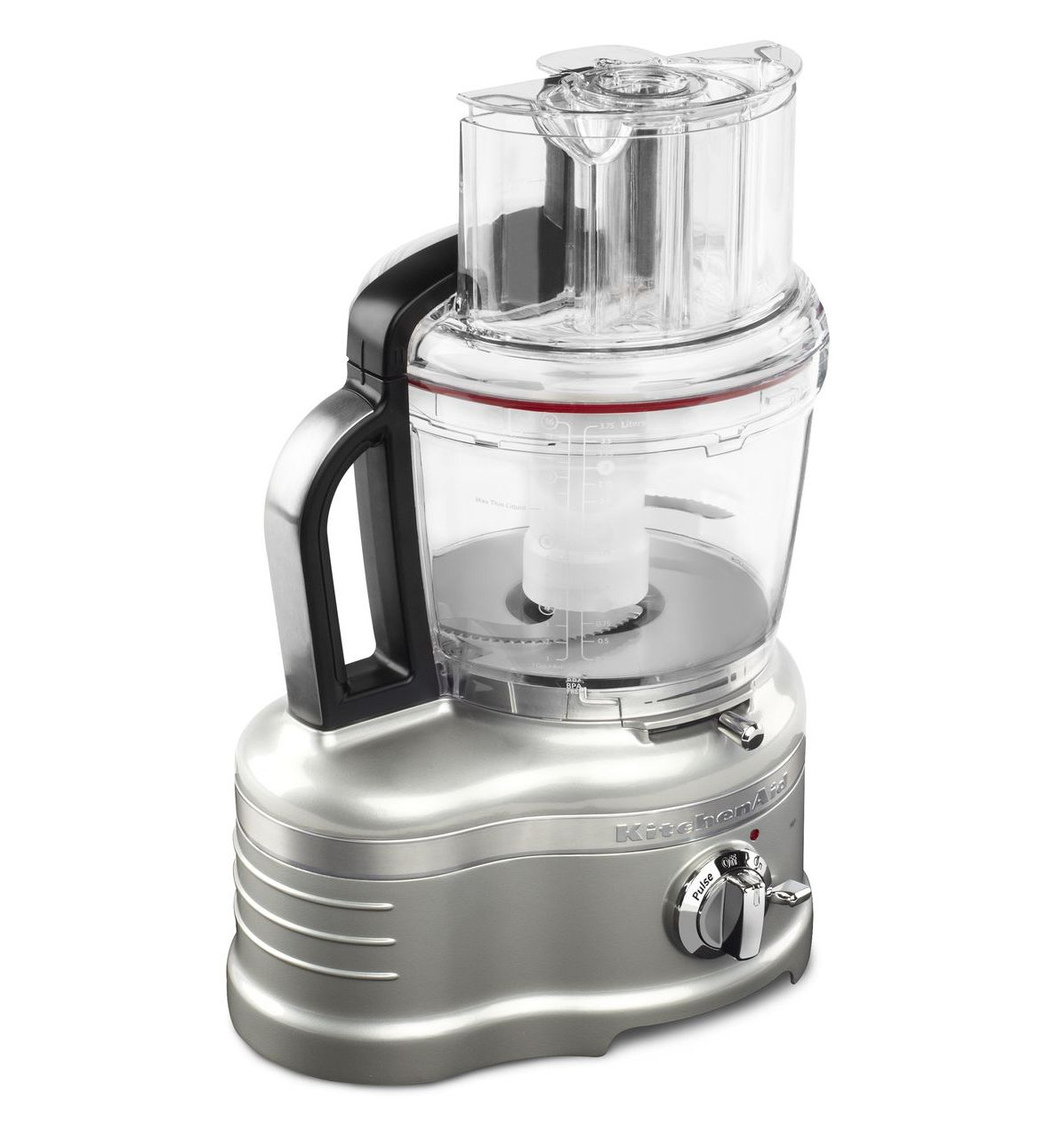 Kitchenaid proline 16 cup food processor sugar pearl silver for Kitchenaid food processor
