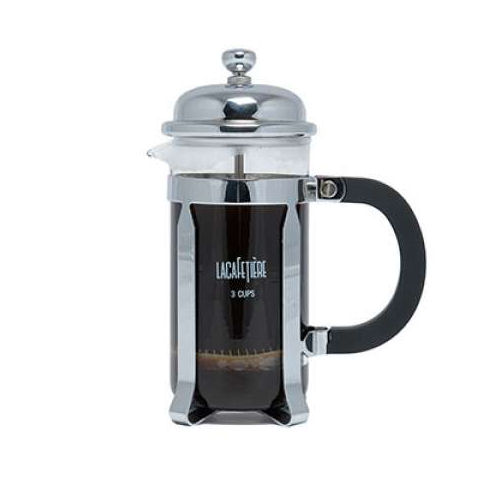 la cafetiere classic 3 cup chrome french press you save. Black Bedroom Furniture Sets. Home Design Ideas