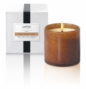 Lafco 15.5 oz Amber Black Vanilla Signature Candle - Foyer