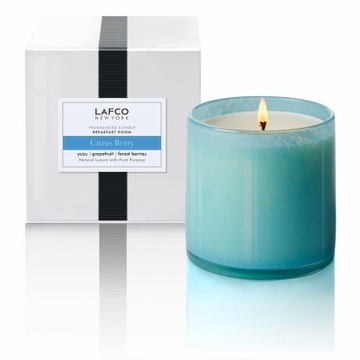 Lafco 15.5 oz Citrus Berry Signature Candle - Breakfast Room