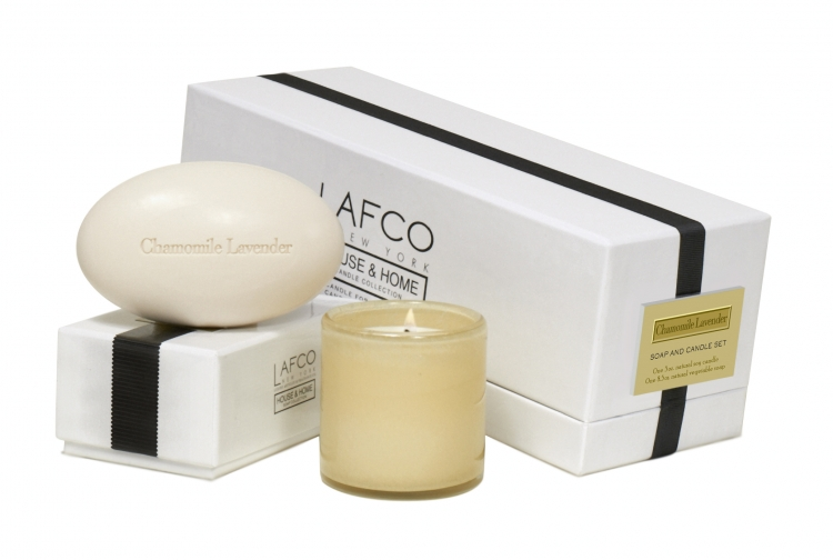 Lafco House Home Candle Soap Gift Set Master Bedroom